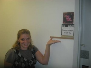Samantha Harris&#039; Dressing Room for DWTS