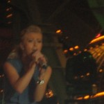 Julianne Hough Performs at Fremont Street for ACMs