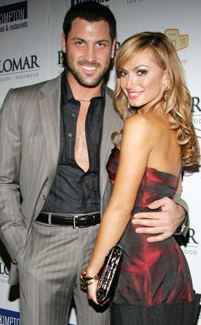 Maksim Chmerkovskiy and Karina Schmirnoff