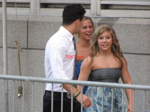 CMT Awards Red Carpet Mark Ballas and Shawn Johnson 2