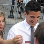 CMT Awards Red Carpet Shawn Johnson and Mark Ballas