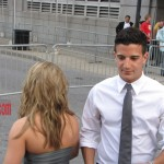 CMT Awards Red Carpet Shawn Johnson and Mark Ballas 3