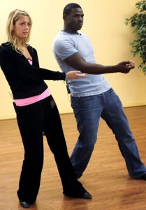 Anna Demidova Michael Irvin Rehearsal 2