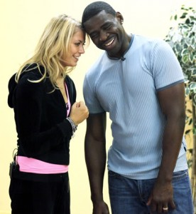 Anna Demidova Michael Irvin Rehearsal 1