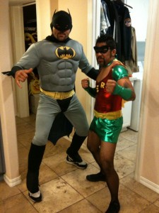 Chuck Liddell as Batman