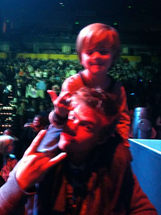 Derek Hough and Nephew