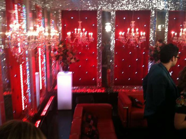 Strictly Come Dancing Red Room