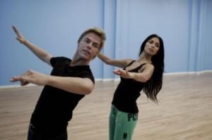 Nicole and Derek V Waltz Rehearsal
