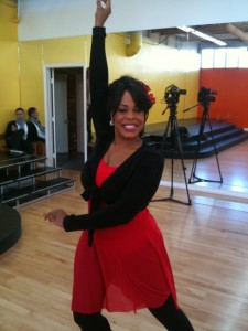 Niecy Nash in Red