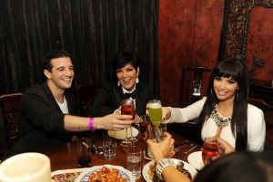 TAO Las Vegas New Year's Eve With Kim Kardashian