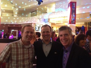 Conrad Green, Tom Bergeron with Pure Dancing with the Stars in Las Vegas