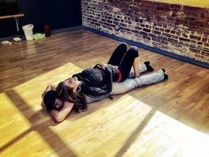 Derek and Maria Rehearsing