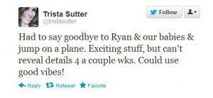 Trista Tweet