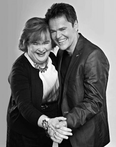 SUSAN BOYLE AND DONNY OSMAND