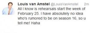 Louis VAn Amstel Tweets 013013
