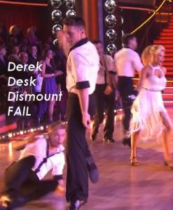 Derek desk dismount