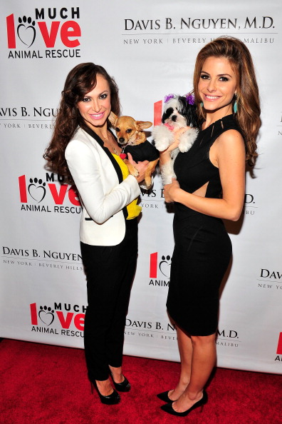 Dancing With The Stars Karina Smirnoff And Extra's Maria Menounos