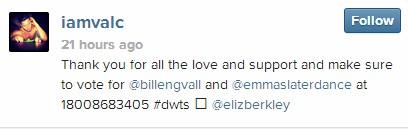 Val's instagram