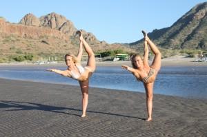 Chelsie and Tara at Villa del Palmar at the Islands of Loreto IMG_2023