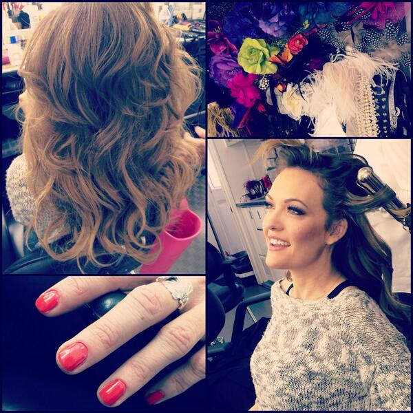 AmyPurdyGettingReadyForDWTS