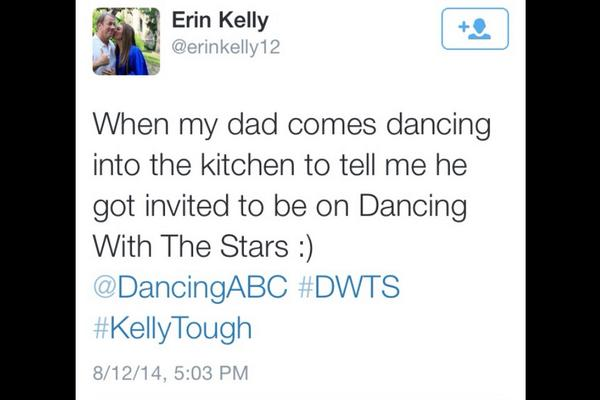 Jim Kelly on DWTS