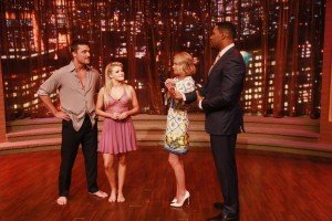 Chris Soules Witney Carson Kelly Ripa Michael Strahan