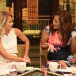 "Kelly Ripa and Carrie Ann Inaba are pictured during the production of ""Live Kelly"" in New York on Monday, July 11, 2016. Photo: David M. Russell//Disney/ABC Home Entertainment and TV Distribution ©2016 Disney ABC. All Rights Reserved."