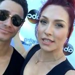 DWTS At The Grove Sasha Farber Sharna Burgess