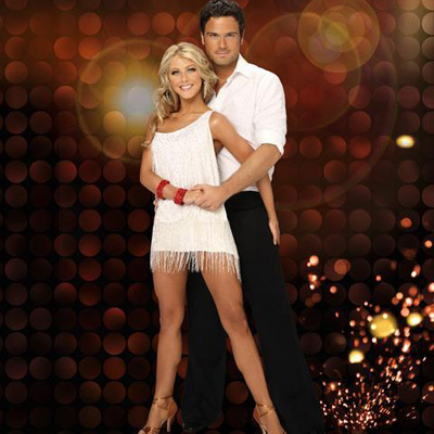 Chuck Wicks and Julianne Hough on DWTS