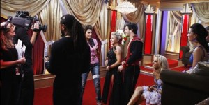 DWTS behind the scenes