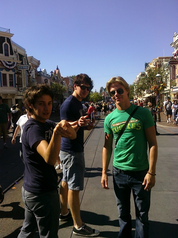 Sam, Harry and Derek Hough