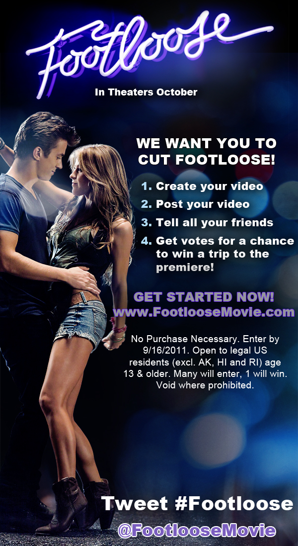 "Footloose Video Contest: ""Herbal Essences Wants Everyone"