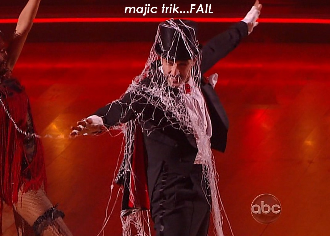 Pure Dancing with the Stars » magic fail