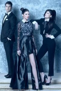 DWTS Rob Kardashian Poses For New Family 2011 Christmas Card. I Admit!