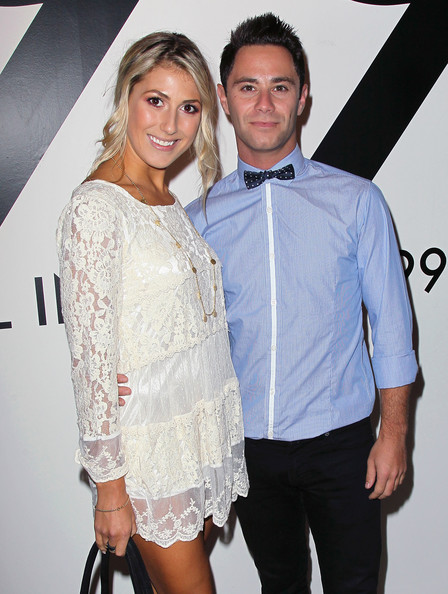 Dancing With The Stars Sasha Farber And Emma Slater Attend All In