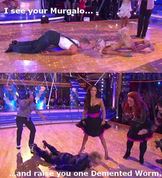 Worm beats Murgalo