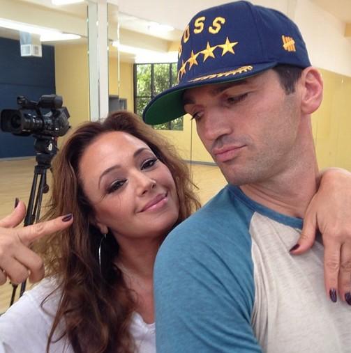 Leah and Tony