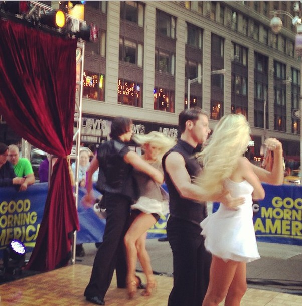 The troupe on GMA