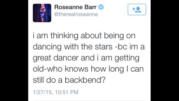 Roseanne on S20